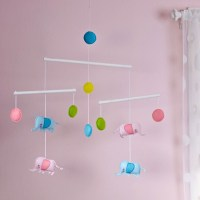 Zutano Blue Elephantasia Ceiling Mobile | Deal Of The Day ...