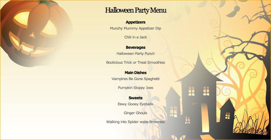 Halloweenize\u201d your Halloween menu \u2013 Halloween food ideas Shop\u0027NCook