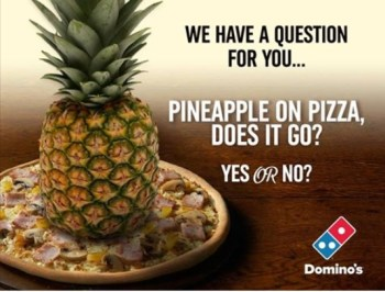 pineapple on pizza yes or no