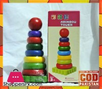 Buy Rainbow Tower Stacking Rings at Best Price in Pakistan