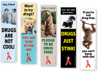 Awareness Animals Bookmarks