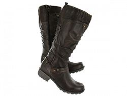 Softmoc Women39s Betsy Brown Leather Tall Boots Sale