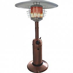 Paramount Copper Table Top Propane Patio Heater Stainless