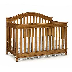 Europa baby palisades convertible crib harvest oak sale prices