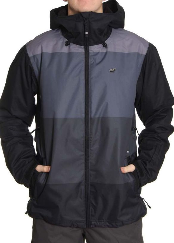 ONEILL ESCAPE SOCIETY SNOW JACKET Black AOP
