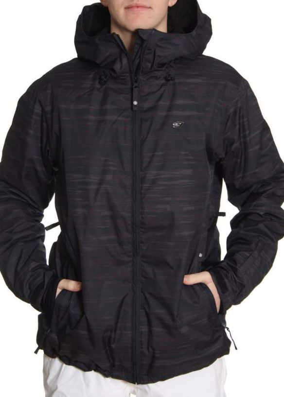 ONEILL ESCAPE SHIBORY SNOW JACKET Black AOP