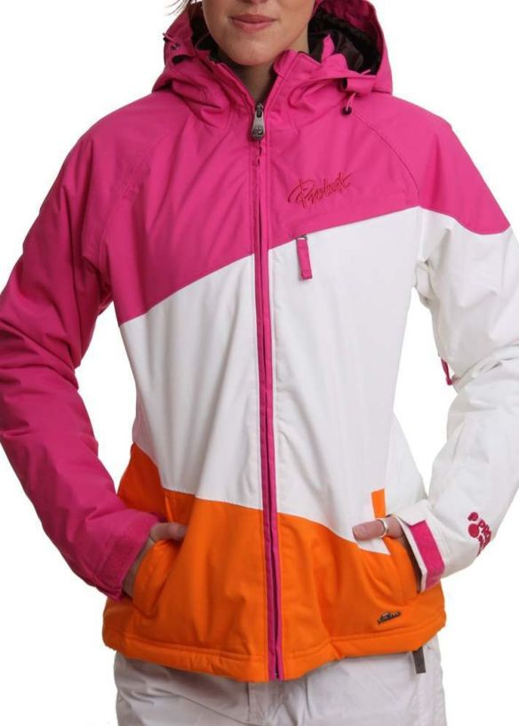 PROTEST ROCHA SNOW JACKET Pink Candy