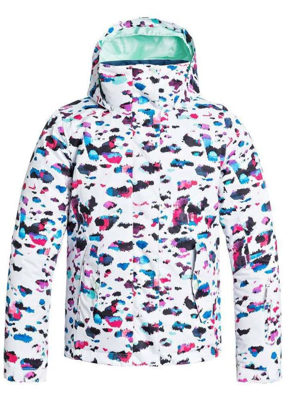 ROXY GIRLS JETTY SNOW JACKET Steamcamo