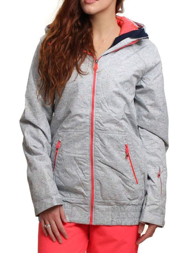 ROXY VALLEY HOODIE SNOW JACKET Constellation