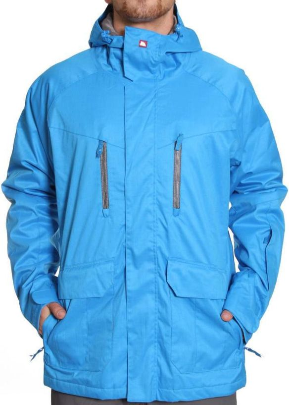QUIKSILVER PIRANHA SNOW JACKET Azul Blue