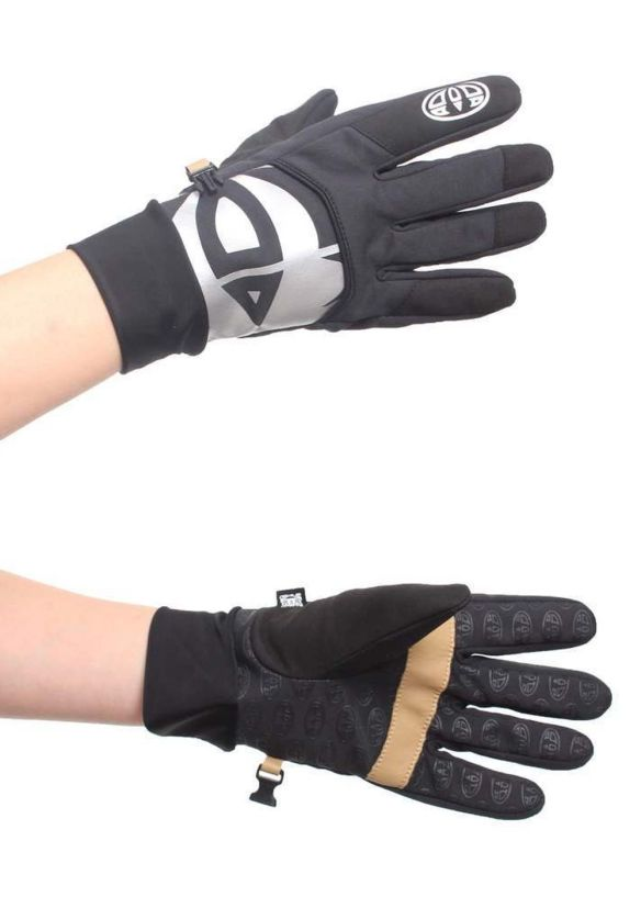 ANIMAL TRIMBY SNOW GLOVES Black