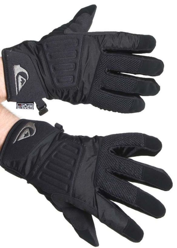 QUIKSILVER VADER SNOW GLOVES Black