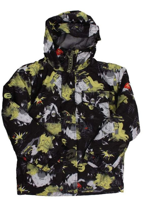 BILLABONG BOYS OVER SNOW JACKET Fluow