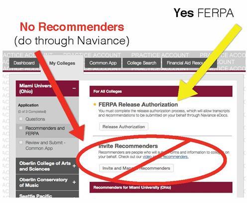 common app letter of recommendation deadline