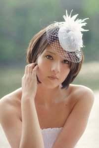 25 Best Wedding Hairstyles for Short Hair 2012 - 2013 ...
