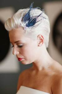 15 Short Wedding Hairstyles | Short Hairstyles 2017 - 2018 ...