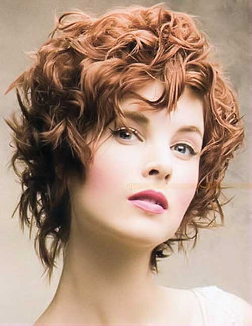 15 curly perms for short hair crazyforus short ginger curly hair perms ideas urmus Image collections