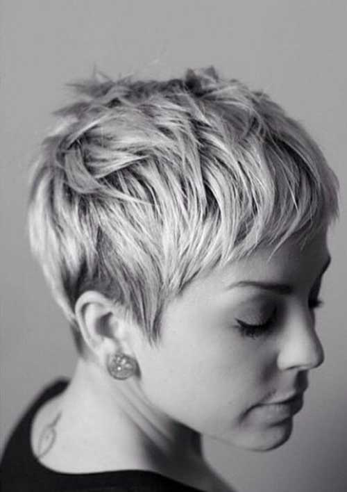 15 best messy pixie hairstyles short hairstyles 2016