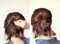 10 Cute Ponytails For Short Hair | Short Hairstyles 2018 ...