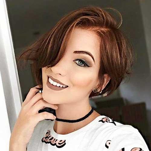 Super Short Asymmetrical Haircut