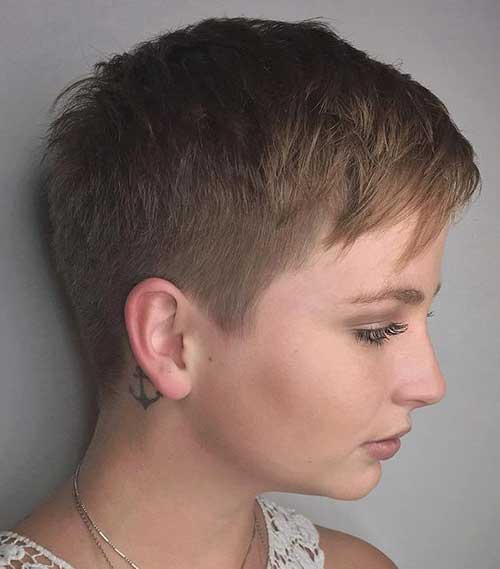 Super Short Haircut