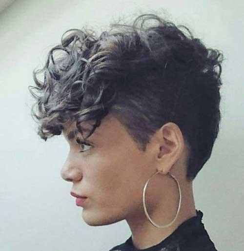 Short Haircut for Curly Hair