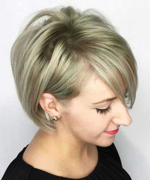 Short Blonde Hair 2018-9