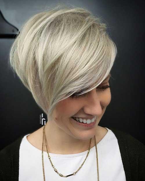 Blonde Short Hair