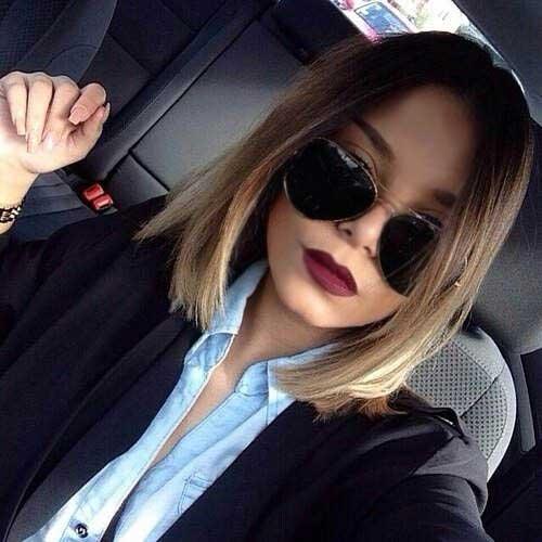 24 Ombre Hair Color Styles For Short Hair Crazyforus