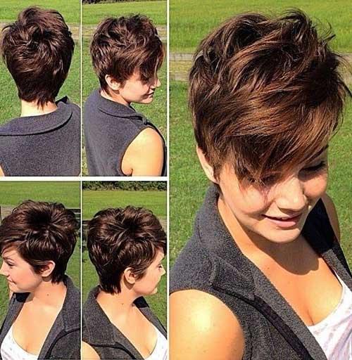 Short Hairstyles For Wavy Hair short asymmetrical haircut for thick hair Short Hairstyles For Wavy Hair