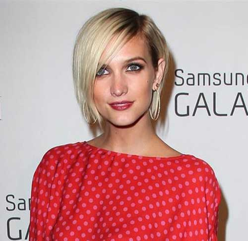 Trending celebrity short hairstyles crazyforus ashlee simpson short hair urmus Gallery