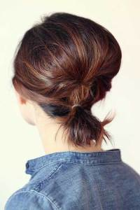 Cute Ponytail Ideas For Short Hair | The Best Short ...