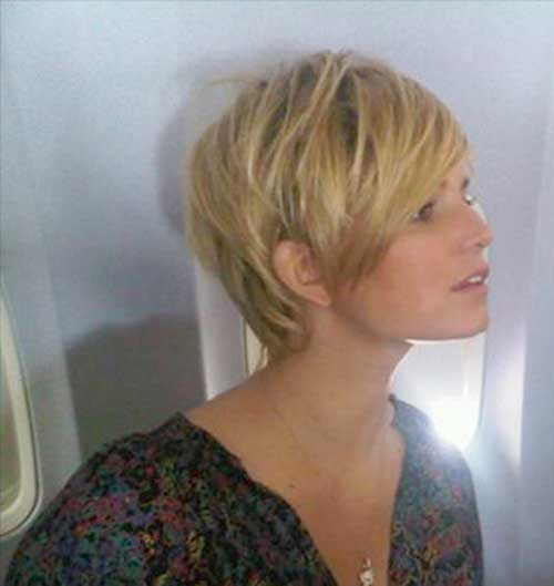 Jessica simpson short hair