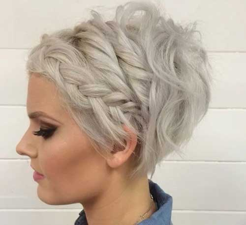 Short Hairstyles with Braid