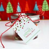 Christmas Candy Gift Tags