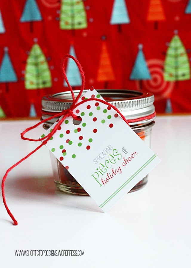 Pieces Gift Tag