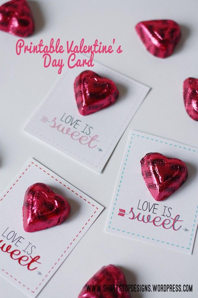 Valentine's Card Display