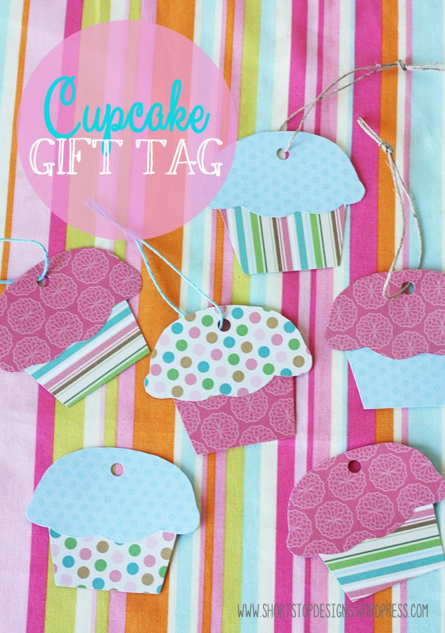 Cupcake Gift tag Display