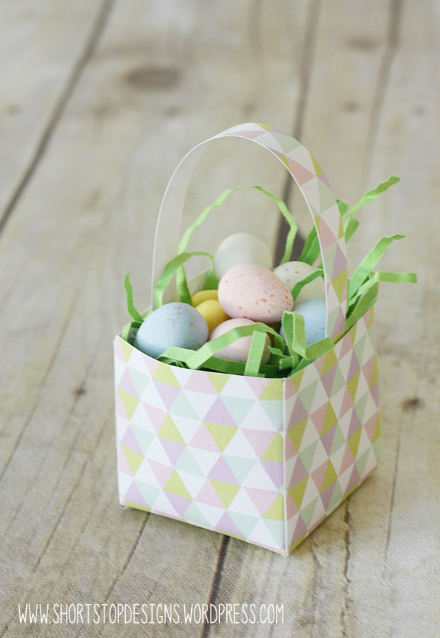 Mini Easter Basket Triangle