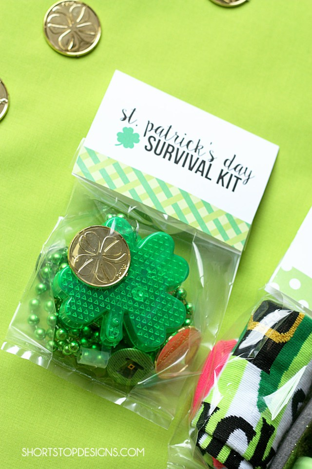 ST. PATTY'S DAY SURVIVAL KIT