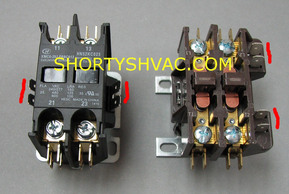 Contactor Replacement Shortys Tips