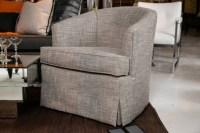 Classic Mid Century Club Chairs Swivel Photo 11   Chair Design