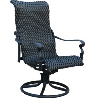 High Back Swivel Rocker Patio Chairs Images 01 | Chair Design