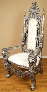 High Backed Throne Chair Ideas King White Bedroom ...