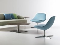 Contemporary Office Reception Chairs With Four Legs ...