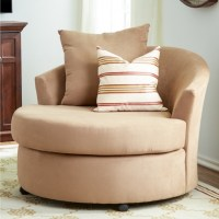 Declain Oversized Swivel Accent Chair In Sand Ashley ...