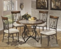 Wrought Iron Kitchen Chairs Chic Small Dining Room Design ...
