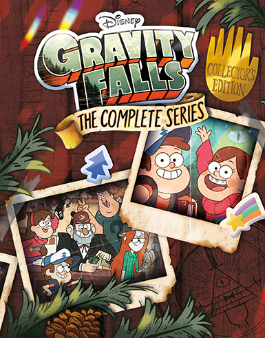 Gravity Falls Mystery Shack Wallpaper Gravity Falls The Complete Series Collector S Edition