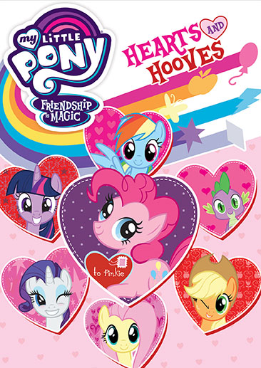 My Little Pony Friendship Is Magic Hearts And Hooves - DVD Shout