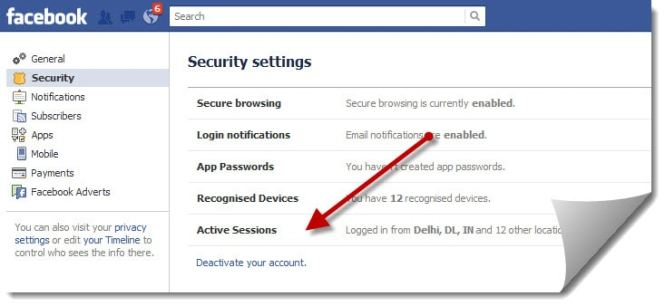 Image result for How to Deactivate your Facebook Account?
